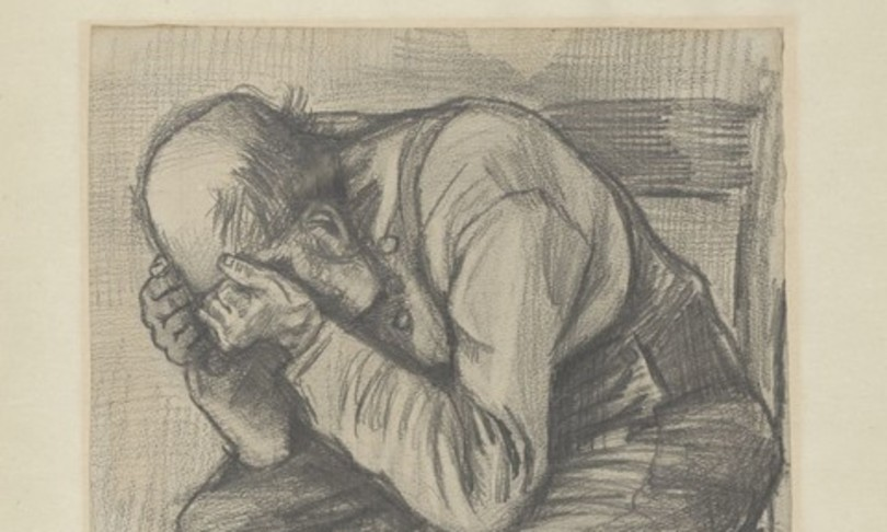 A never-before-seen drawing by Van Gogh is exhibited in Amsterdam
