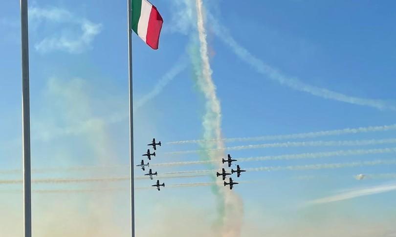 Frecce Tricolori tornano a sfrecciare nei cieli dopo due anni