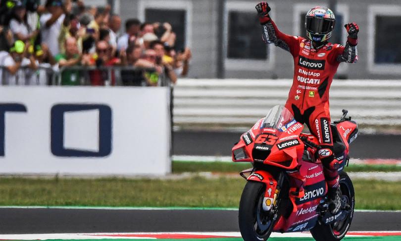 Moto: Bagnaia vince il gran premio di San Marino