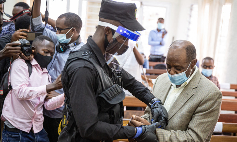 Ruanda eroe Hotel Rwanda condannato terrorismo