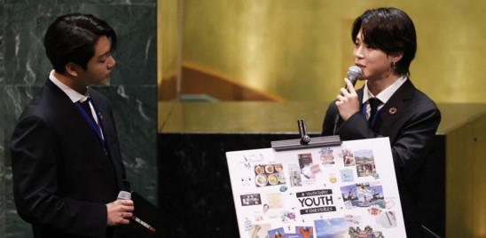 I Bts si sono esibiti all'Assemblea dell'Onu