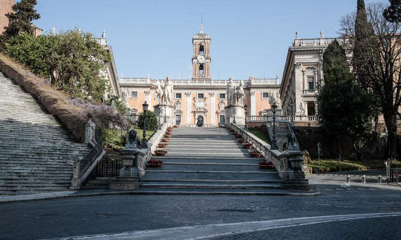 Roma Campidoglio Pd M5s amministrative