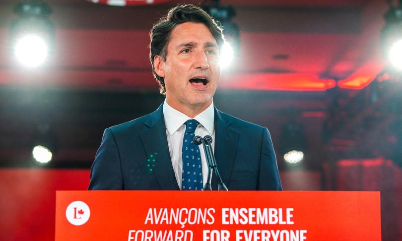 Canada Trudeau elezioni