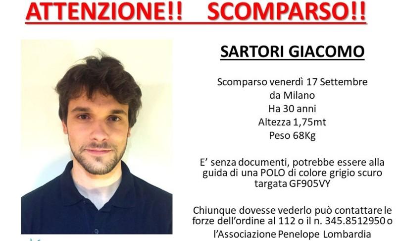 giallo informatico 30enne scomparso Milano