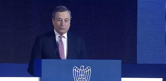 """Draghi chiede un Patto per l'Italia: """"Nessuno può chiamarsi fuori"""""""