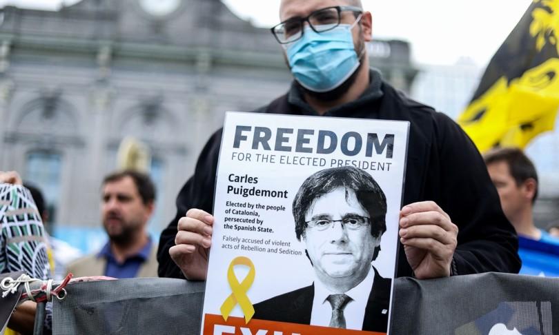 Puigdemont liberato