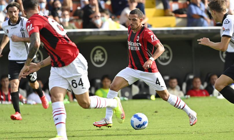 Calcio Milan SpeziaBrahim Diaz