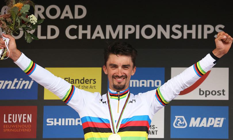 Alaphilippe si conferma campione del mondo di ciclismo