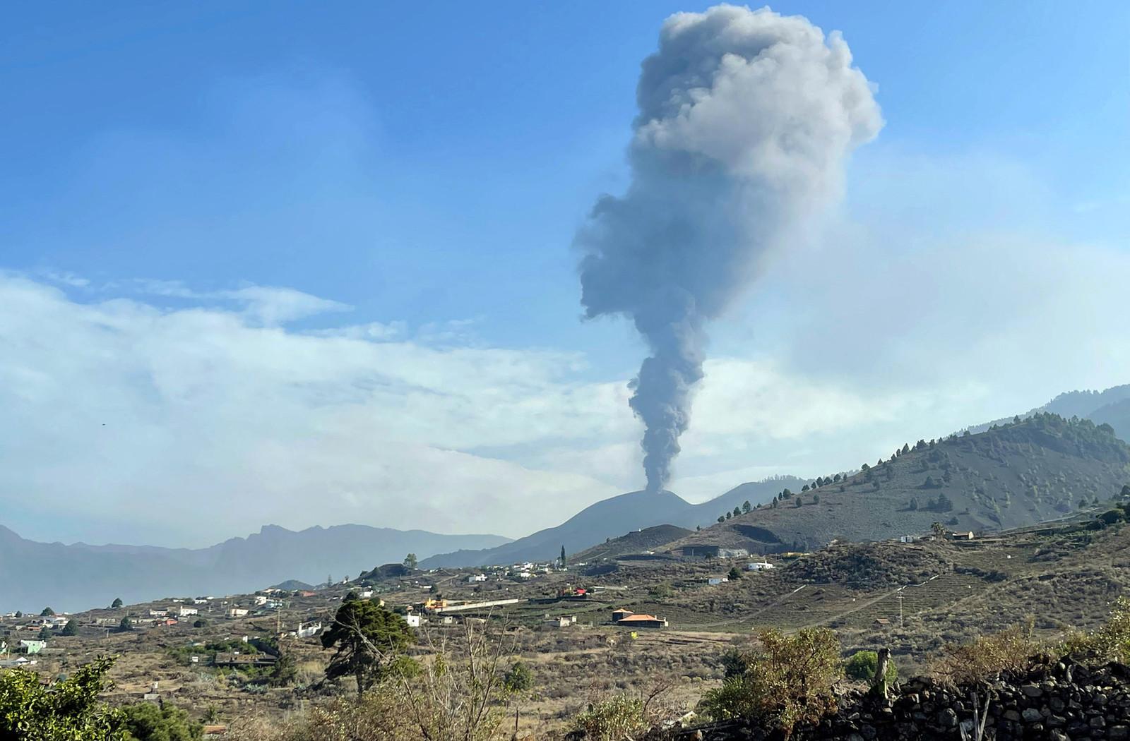 L'eruzione del Cumbre Veja, alle Canarie