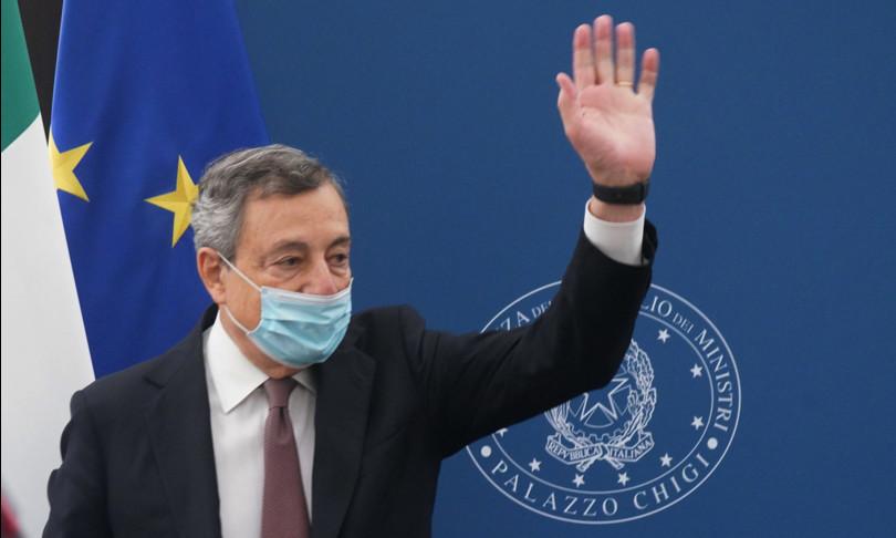 Draghi italia fiducia pil vaccini