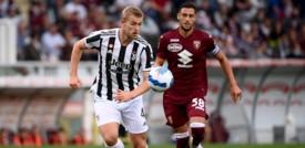 La Juve vince il derby della Mole, Toro battuto 1-0