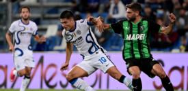 L'Inter rimonta il Sassuolo, al Mapei finisce 1-2