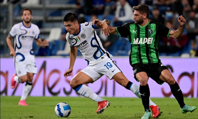 Inter rimonta Sassuolo