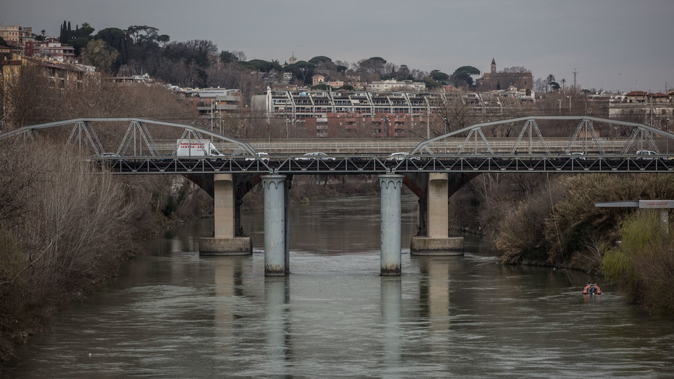 Il ponte di ferro com'era