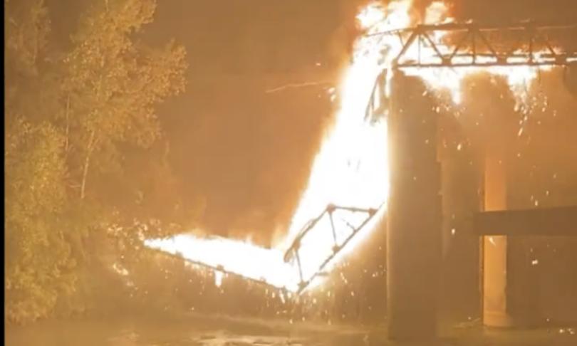 Non sarebbe doloso incendio Ponte Ferro