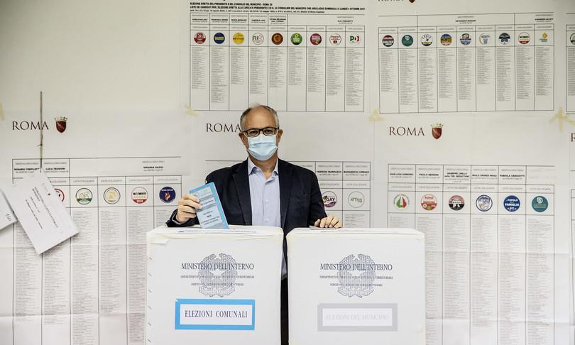 Hanno votato candidati sindaco Roma