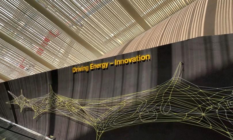 Expo Terna presenta opera d'arte Driving energy