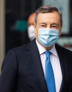 """Draghi ribadisce: """"La riforma del catasto non è una patrimoniale sulla casa"""""""