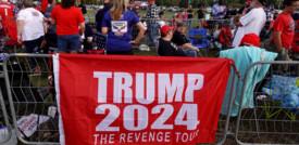 Bagno di folla per Trump che ora guarda al 2024