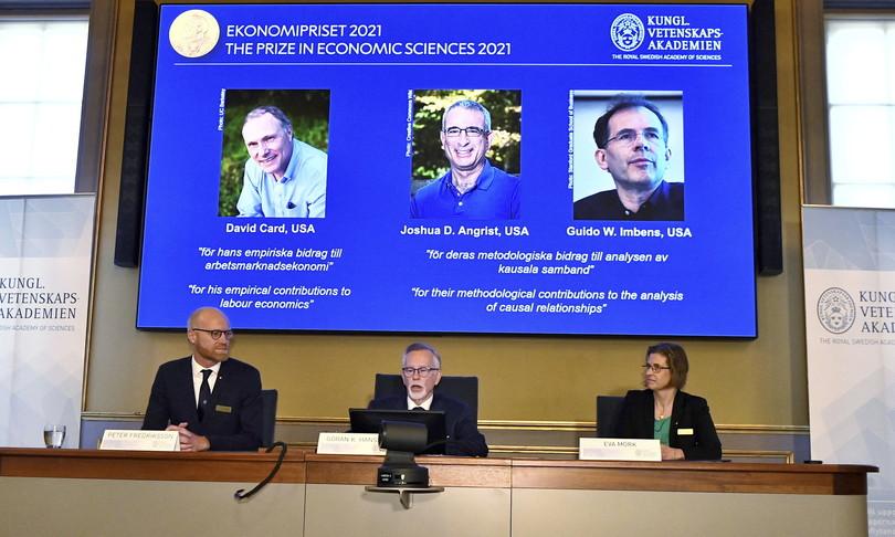 Nobel Economia studiosi relazioni causali lavoro