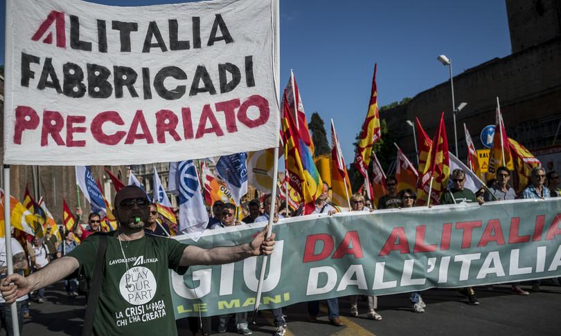 Almaviva sciopero a oltranza sit-in a Palermo