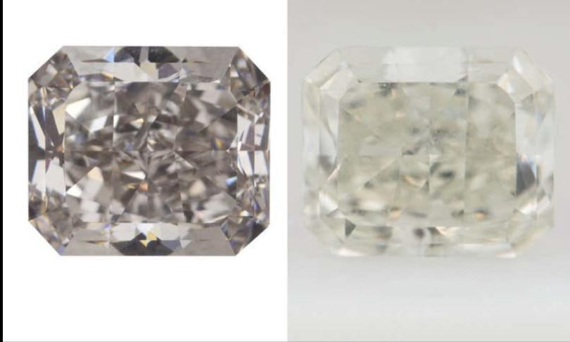 Scienza diamanti cambiano colore freddo