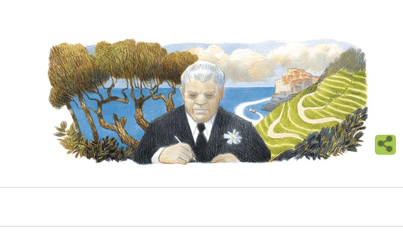 doodle google montale