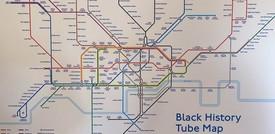 La nuova mappa della metropolitana di Londra dedicata alla comunità nera