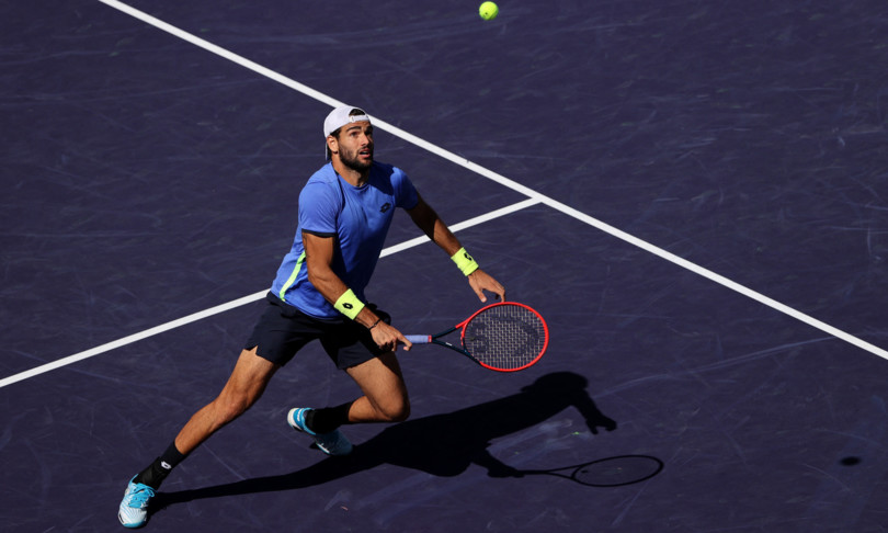 Berrettini stops in the third round at the Indian Wells tournament