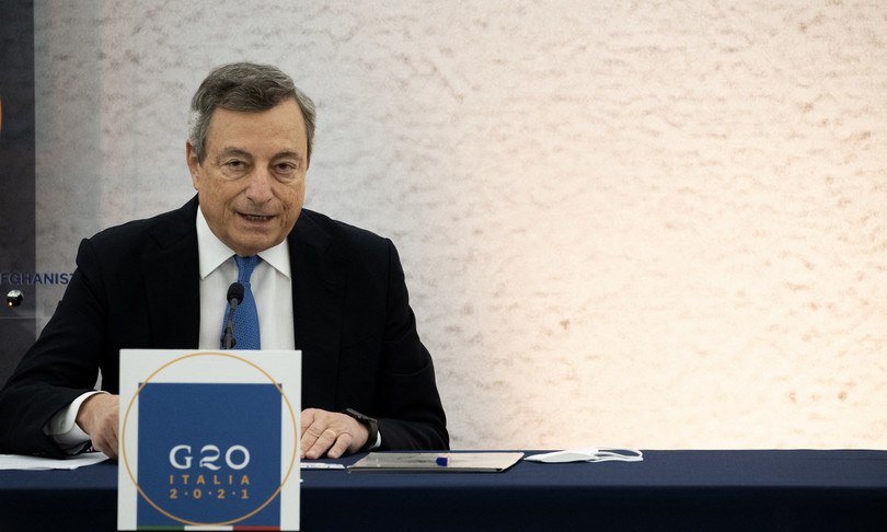 """Draghi takes time on Forza Nuova: """"Let's reflect on the dissolution"""""""
