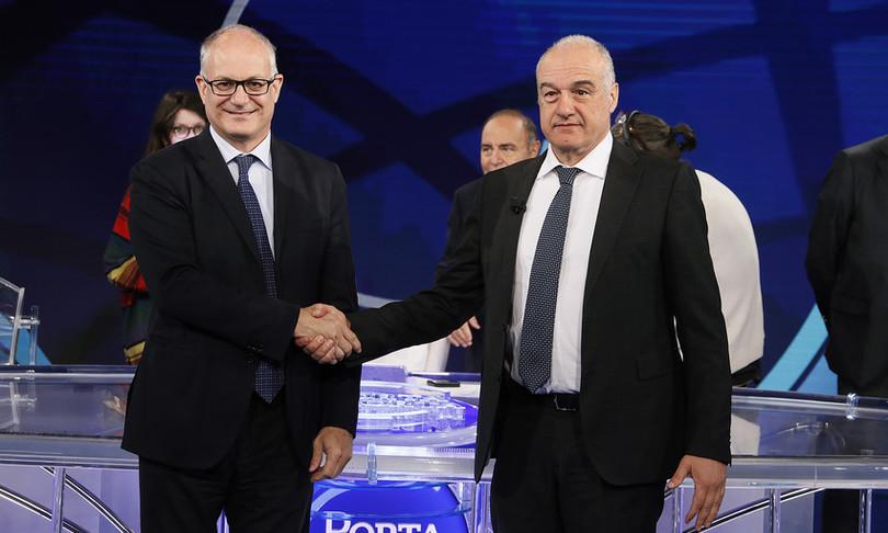 scintille confronto gualtieri michetti roma ballottaggio