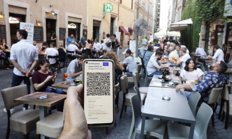 dati controlli violazioni green pass locali clienti