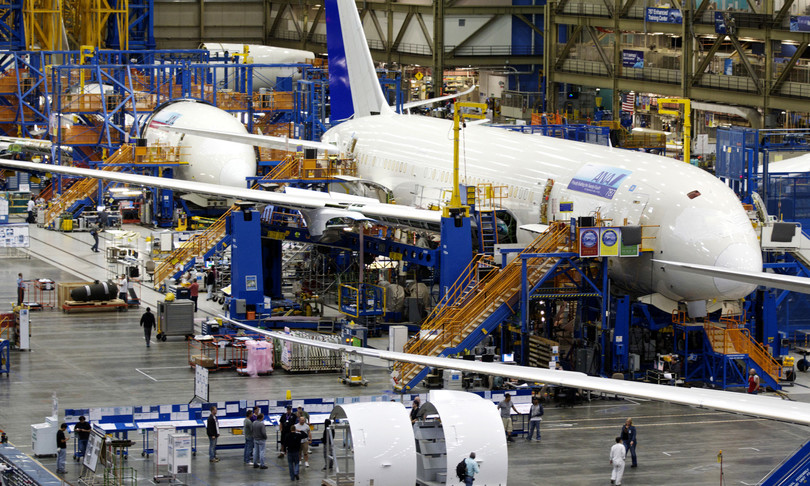 New manufacturing defects found on the Boeing B787 Dreamliner