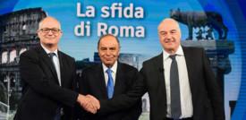 Finale avvelenato della campagna elettorale per il Campidoglio tra Michetti e Gualtieri