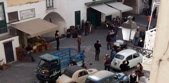 Il set del Talento di Mr Ripley è in un borgo amalfitano