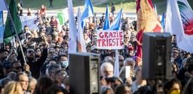 """Ultimatum ai portuali di Trieste: """"Il blocco non si può più tollerare"""""""