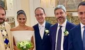 Fico e Di Maio hanno fatto da testimoni al matrimonio di un deputato M5s