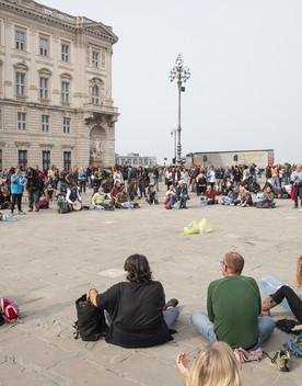 Le divisioni hanno spezzato la protesta sul Green pass di Trieste