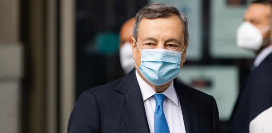 Draghi annuncia un graduale abbandono di quota 100