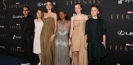 """Il Festival del cinema di Roma chiude con """"Eternals"""" e Angelina Jolie"""