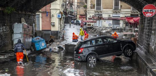"""IL MALTEMPO CONTINUA A SFERZARE LA SICILIA. CURCIO: """"DICHIAREREMO LO STATO DI EMERGENZA"""""""