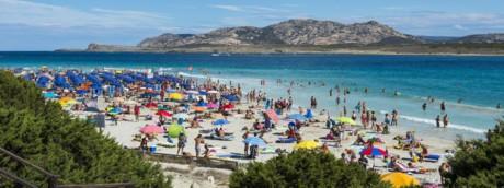 Turismo in Italia, Sardegna spiaggia La Pelosa
