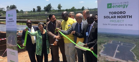 Building Energy launches photovoltaic plant in Uganda