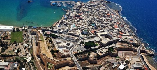 Israel: Italy for the preservation of ancient Akko