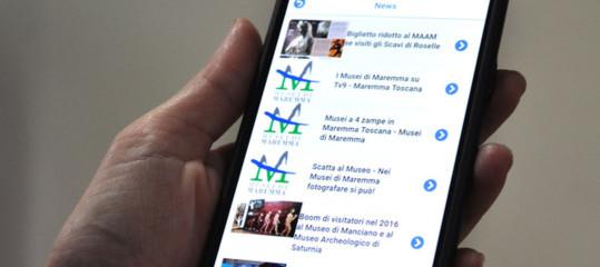 Tuscany: the treasures of the Maremma on an app
