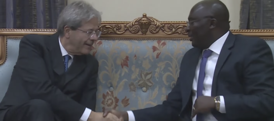 Gentiloni: Italy and Ghana have tie built with the power of friendship