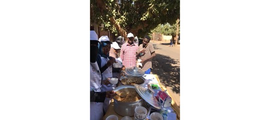 Sudan: 600 free meals in the Week of Italian Street Food
