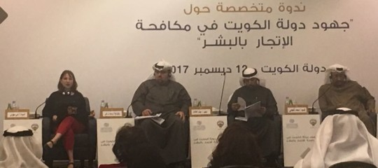 Kuwait: Combating human trafficking, Italy participates