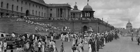 Raisina Hill, New Delhi, India's first Independence Day