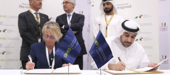 Italy-UAE: GMIS signs Mou with Italian Farmindustria